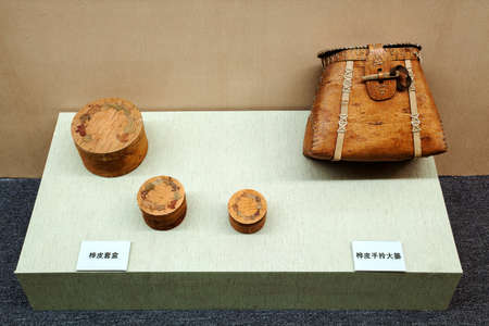 confucian: Hezhe Birch leather products