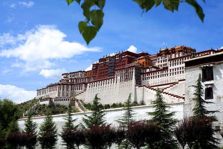 potala: Potala Palace in Lhasa, Tibet, China
