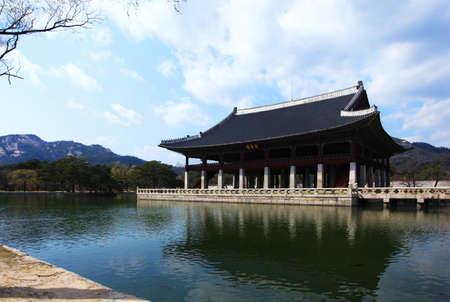 lou: Korea Gyeongbokgung in Seoul Gong Qing Lou