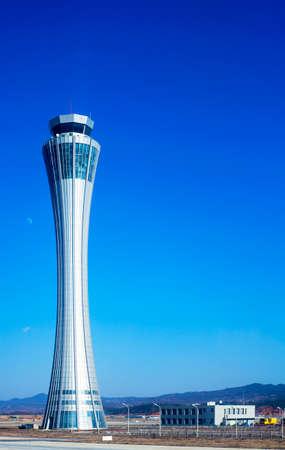 kunming: Yunnan Kunming airport control tower Editorial