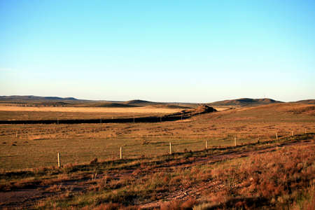 inner mongolia: Evening of grassland in Inner Mongolia