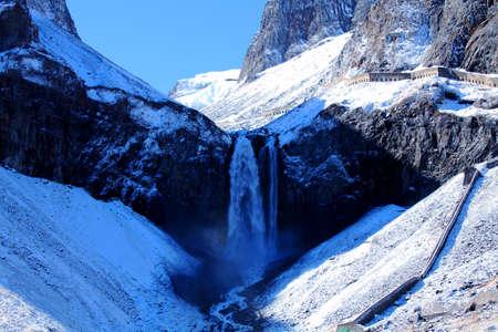 Changbai waterfall Фото со стока