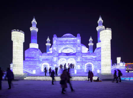 ice sculpture: Harbin ice sculpture