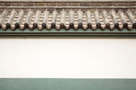 emboss: Changchun temple building walls