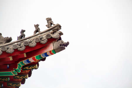 confucian: Confucian Temple in Changchun stone brackets