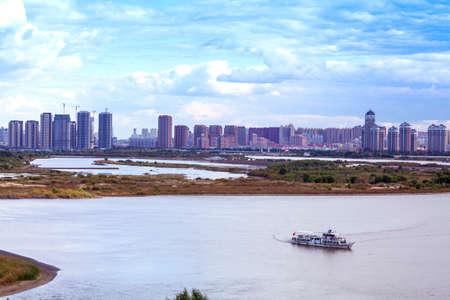 passenger ships: Passenger ships of Songhua River Bank building