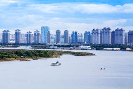 passenger ships: Harbin Bank building passenger ships