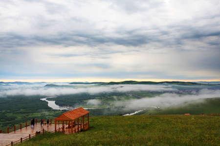 wetland: Ergun wetland scenery