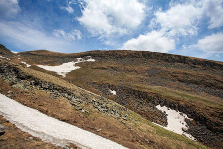 a slope: Changbai Mountain Shanxi Whitehead slope scenery