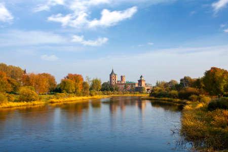 volga: Volga manor European architecture scenery