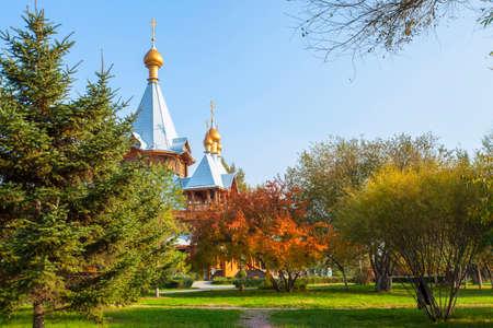 volga: Volga manor autumn scenery