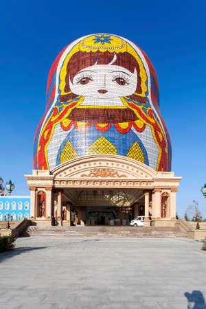 matryoshka doll: Matryoshka doll building