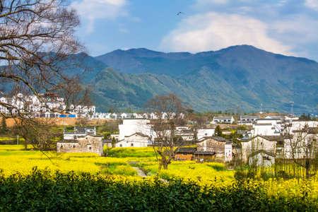 reaches: Anhui Lu Village scenery