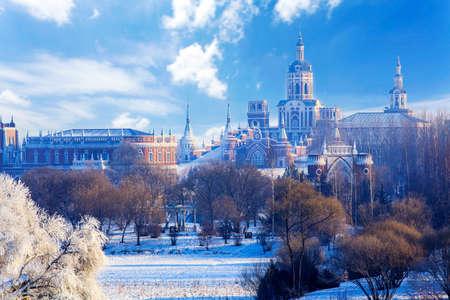 Winter Volga manor rime Redactioneel
