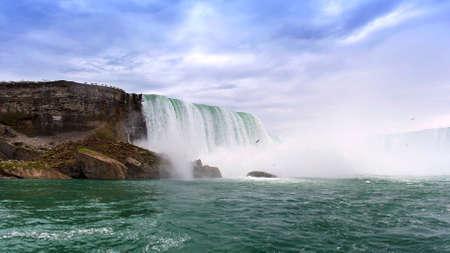 Water mist of great falls, Nicaragua
