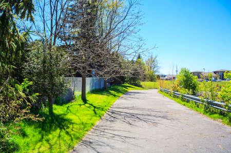 Villas road in London, Toronto, Canada
