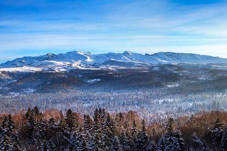 Changbai Mountain winter peak Stok Fotoğraf