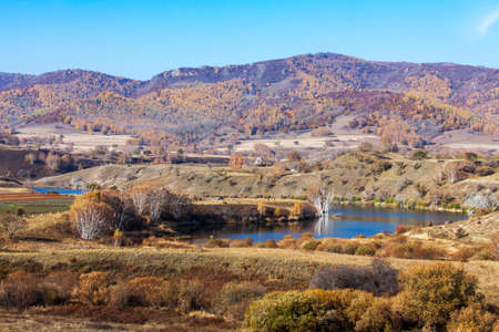 Autumn Hamaba scenery