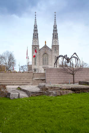 Church of Our Lady of the Ottawa Parliament Hill, Canada Banco de Imagens - 123132645