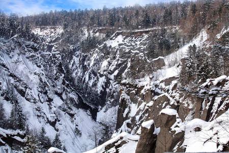 Jilin Snow Valley panorama