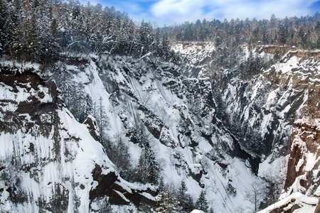 Jilin Snow Valley panorama