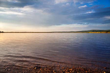 Huma River scenery