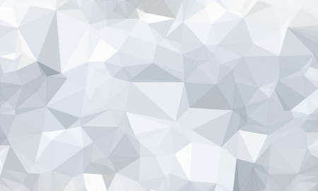 low poly background and polygon in geometric white shape