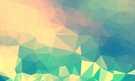 Low poly background design in geometric pattern. polygon wallpaper in origami style. polygonal texture illustration in color yellow and green