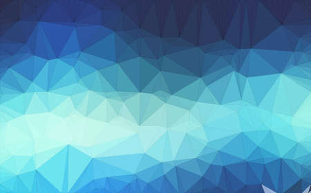 Low poly background design in geometric pattern. polygon wallpaper in origami style. polygonal texture illustration in color dark blue and medium blue and light blue