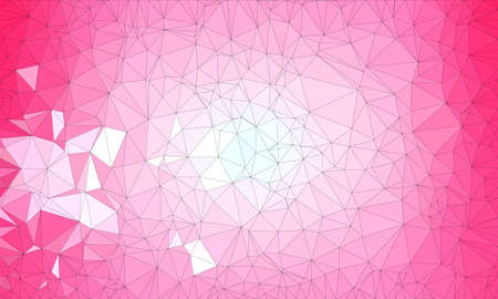 pink low poly background with dark pink and light pink and geometric pattern.