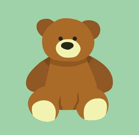 かわいいクマさんデザイン テディベアは漫画デザインです ベクター素材 のイラスト素材 ベクタ Image