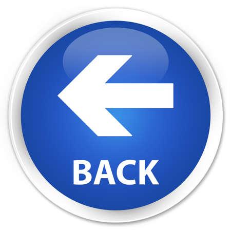 move arrow icon: Bot�n azul brillante Back