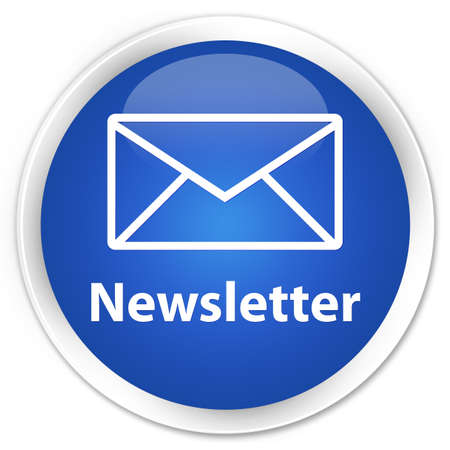 blogs: Newsletter glossy blue button