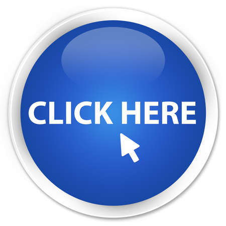 Click Here glossy blue button Stock Photo - 16279006