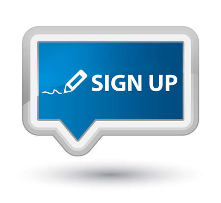 registry: Sign up Stock Photo