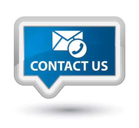 Póngase en contacto con nosotros Foto de archivo - 25300180