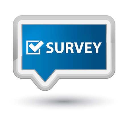 Survey icon photo