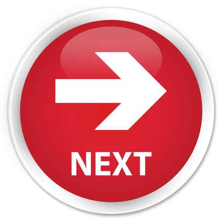 freccia destra: Successivo freccia a destra il pulsante rosso lucido