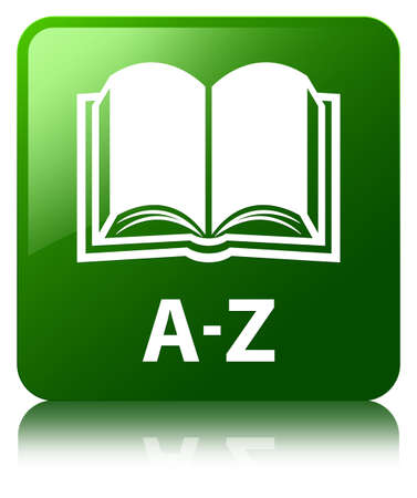 az: A-Z book green square button