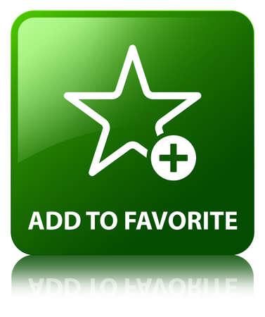 Add to favorite green square button