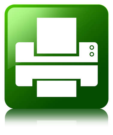 multifunction printer: Printer icon green square button