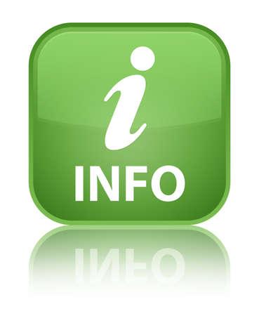 Info-Symbol Grün Quadrat-Taste Lizenzfreie Fotos, Bilder Und Stock  Fotografie. Image 31778702.