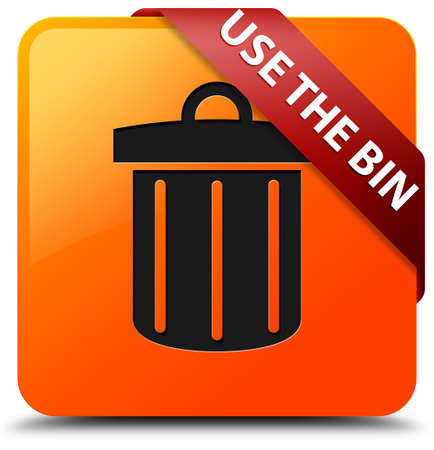 Use the bin glossy yellow square button photo