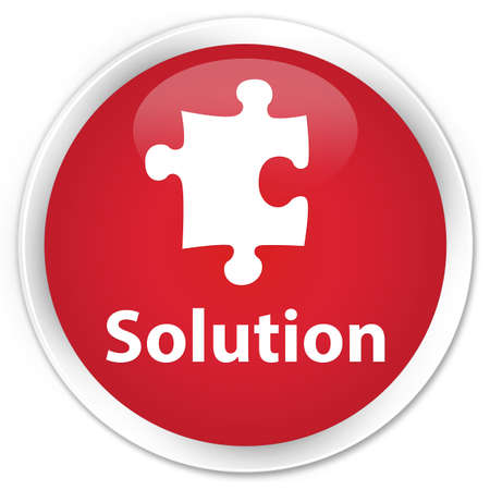 plugin: Solution red glossy round button