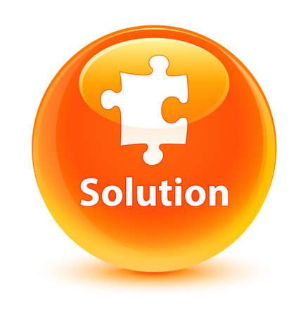 plugin: Solution glassy orange button