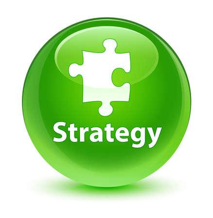 plugin: Strategy glassy green button