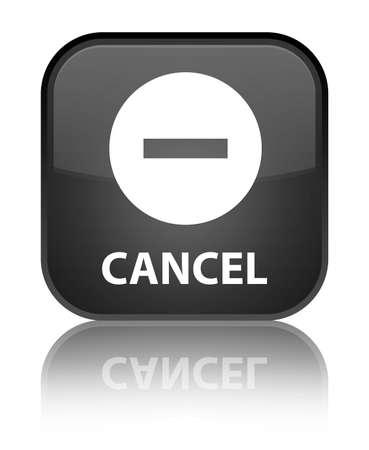 disagree: Cancel black square button
