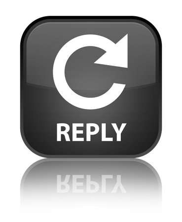 reply: Reply black square button