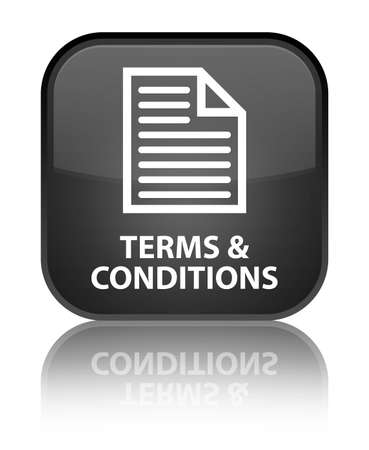 terms: Terms and conditions (page icon) black square button