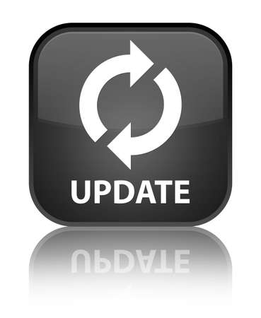 update: Update black square button
